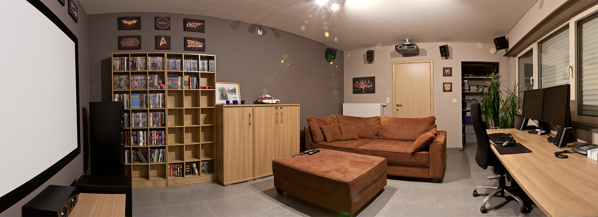 Panorama Tv Meubel.Freeco S Home Theater Gallery Home Theatre Still Needs Some