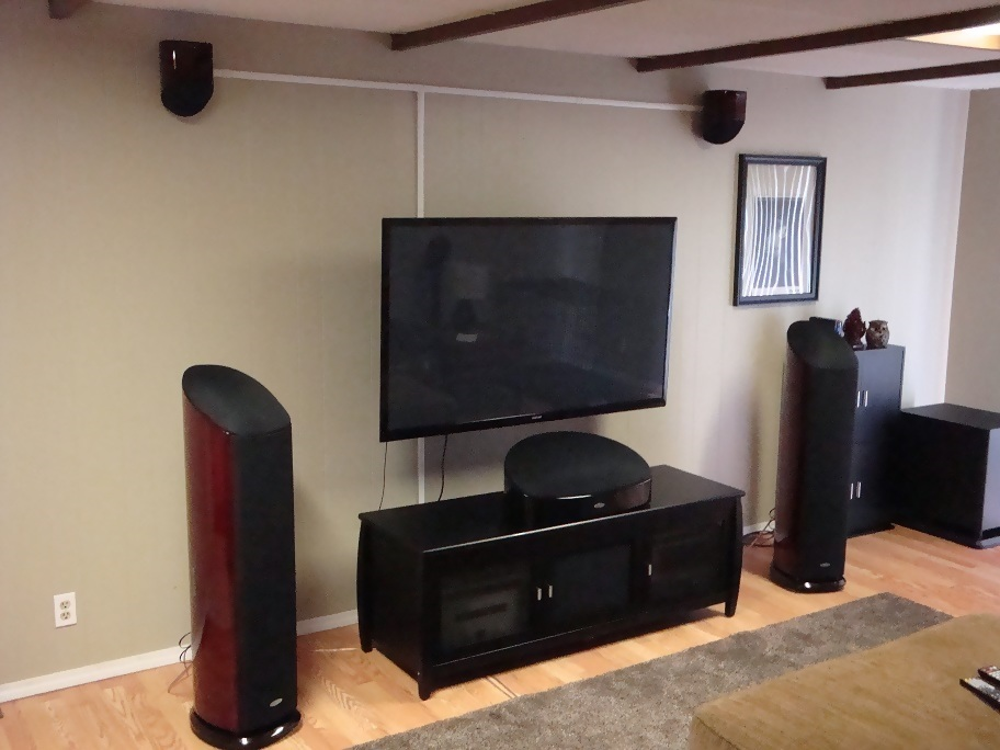Morbidcorpse S Home Theater Gallery My Modest Home Theater 21