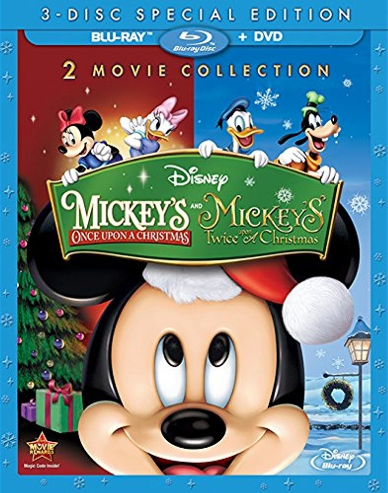 mickeys once upon a christmas twice upon a christmas blu ray 2 movie collection special edition - Mickey Mouse Christmas Movies