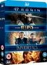 47 Ronin 3D / RIPD 3D / Immortals 3D (Blu-ray)