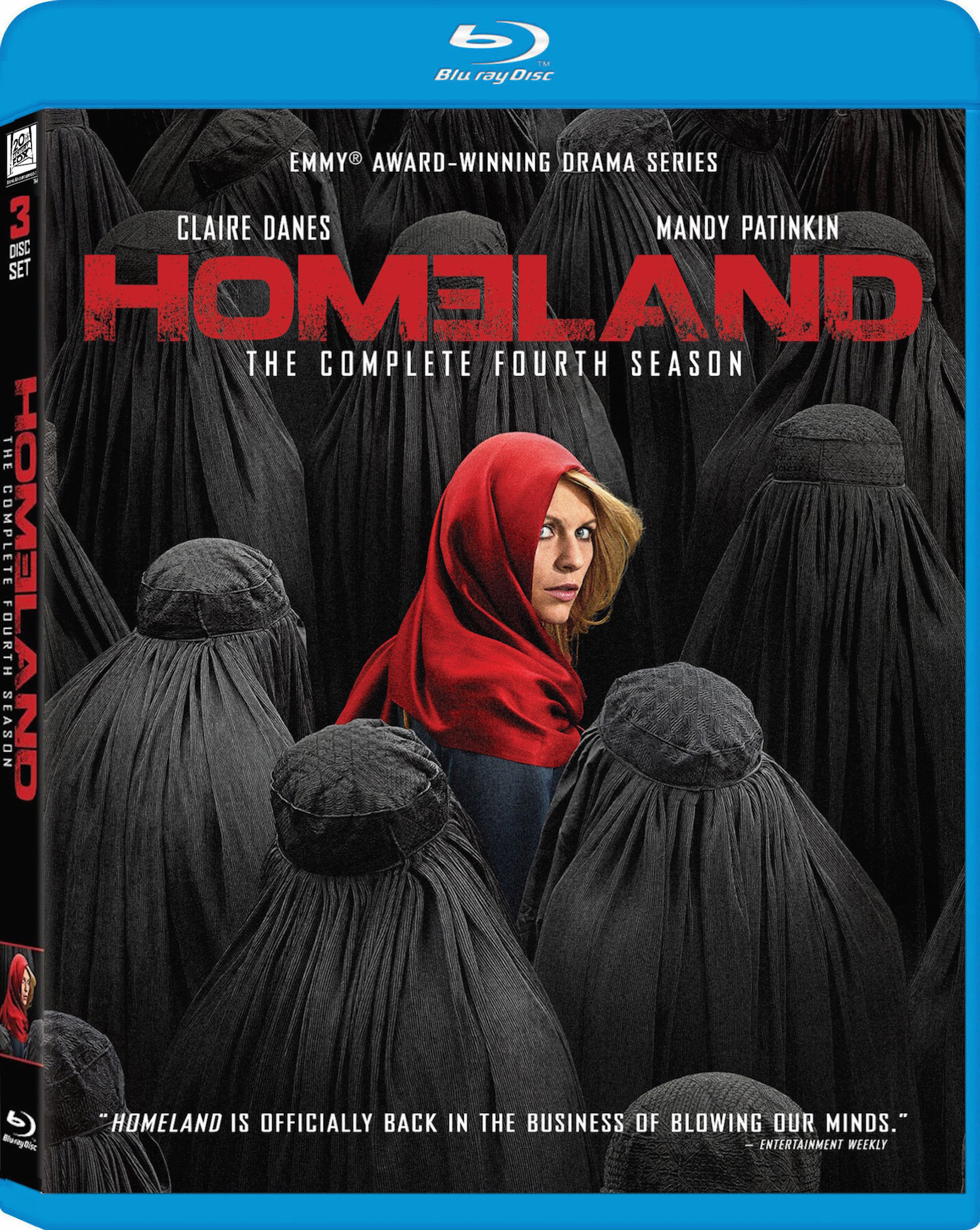 Homeland: The Complete Fourth Season Blu-ray