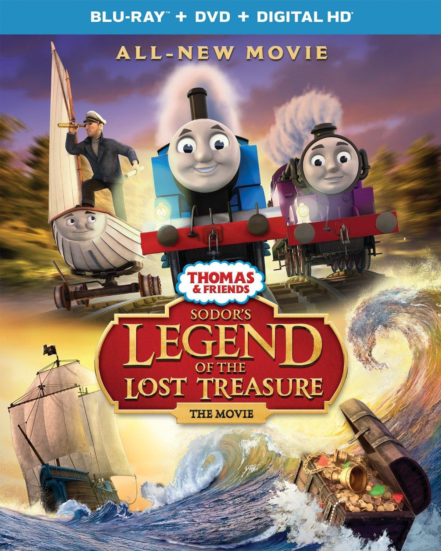 Thomas and Friends: Sodor's Legend of the Lost Treasure Blu-ray
