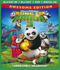 Kung Fu Panda 3 3D (Blu-ray) Temporary cover art