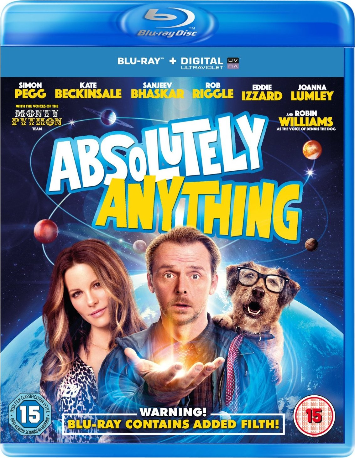 Absolutely Anything Blu-ray Release Date December 7, 2015 (United ...