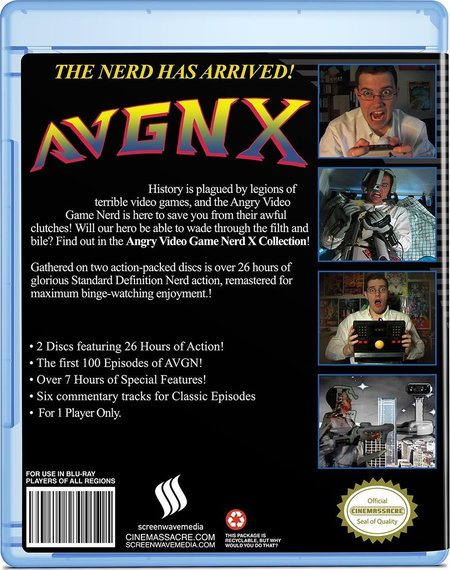 Angry video game nerd: the movie on vimeo.