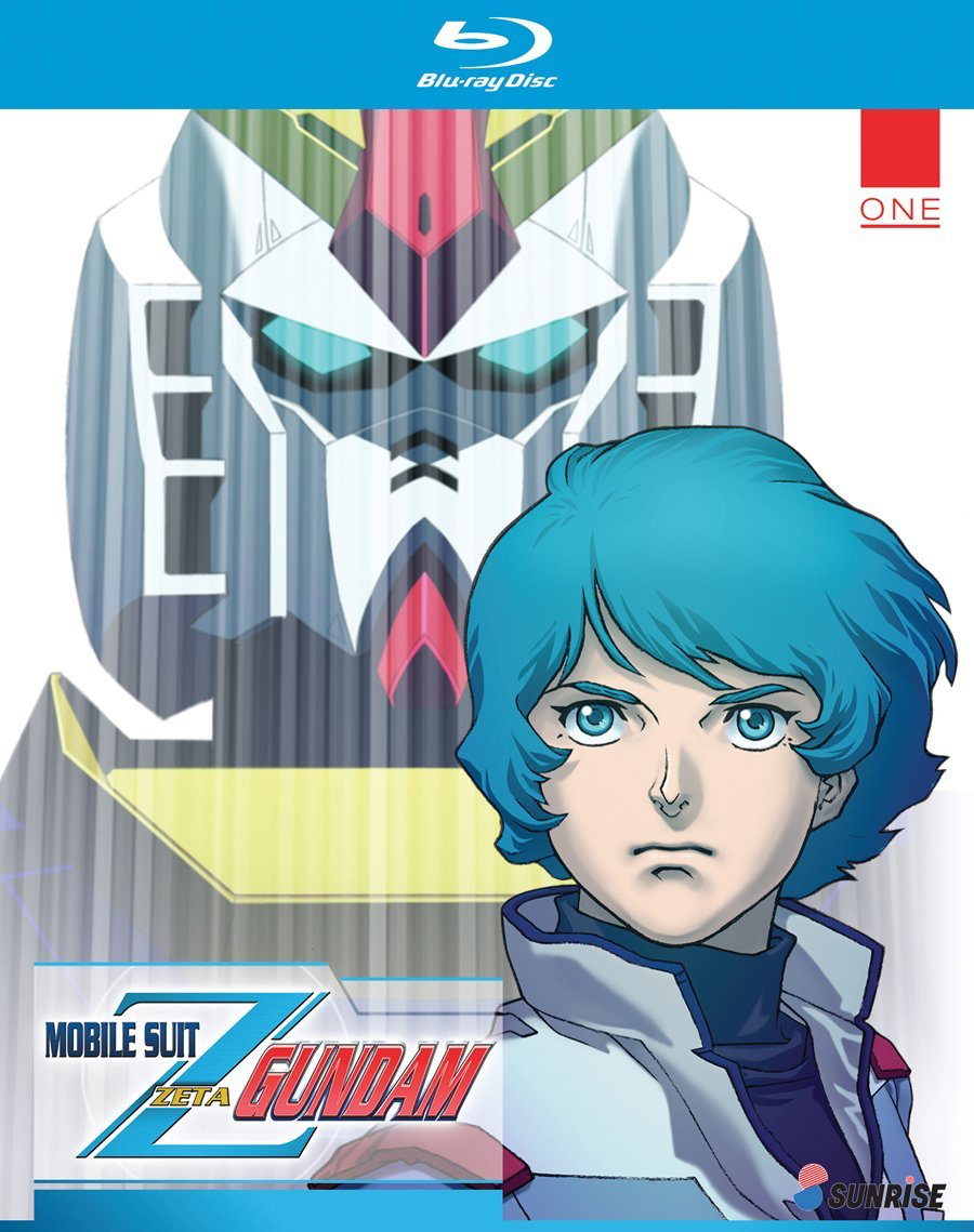 Mobile Suit Zeta Gundam Part 1 Collection Blu Ray