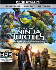 Teenage Mutant Ninja Turtles: Out of the Shadows 4K (Blu-ray)
