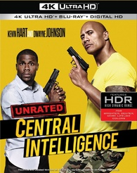Central Intelligence 4K (Blu-ray)