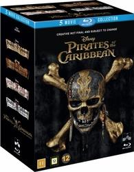 Pirates Of The Caribbean 1 5 Box Set Blu Ray Denmark