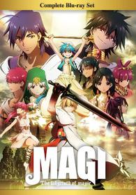 magi the labyrinth of magic blu ray مترجم