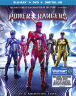 power rangers blu ray