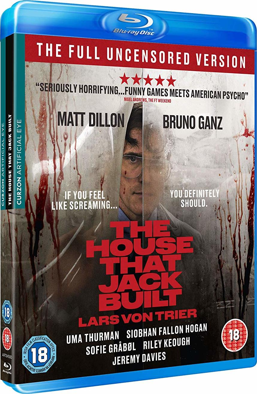 Image result for house jack built blu-ray