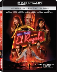 Bad Times at the El Royale 4K (Blu-ray) Temporary cover art