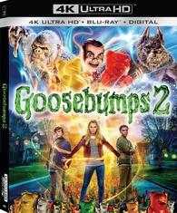 Goosebumps 2: Haunted Halloween 4K (Blu-ray)