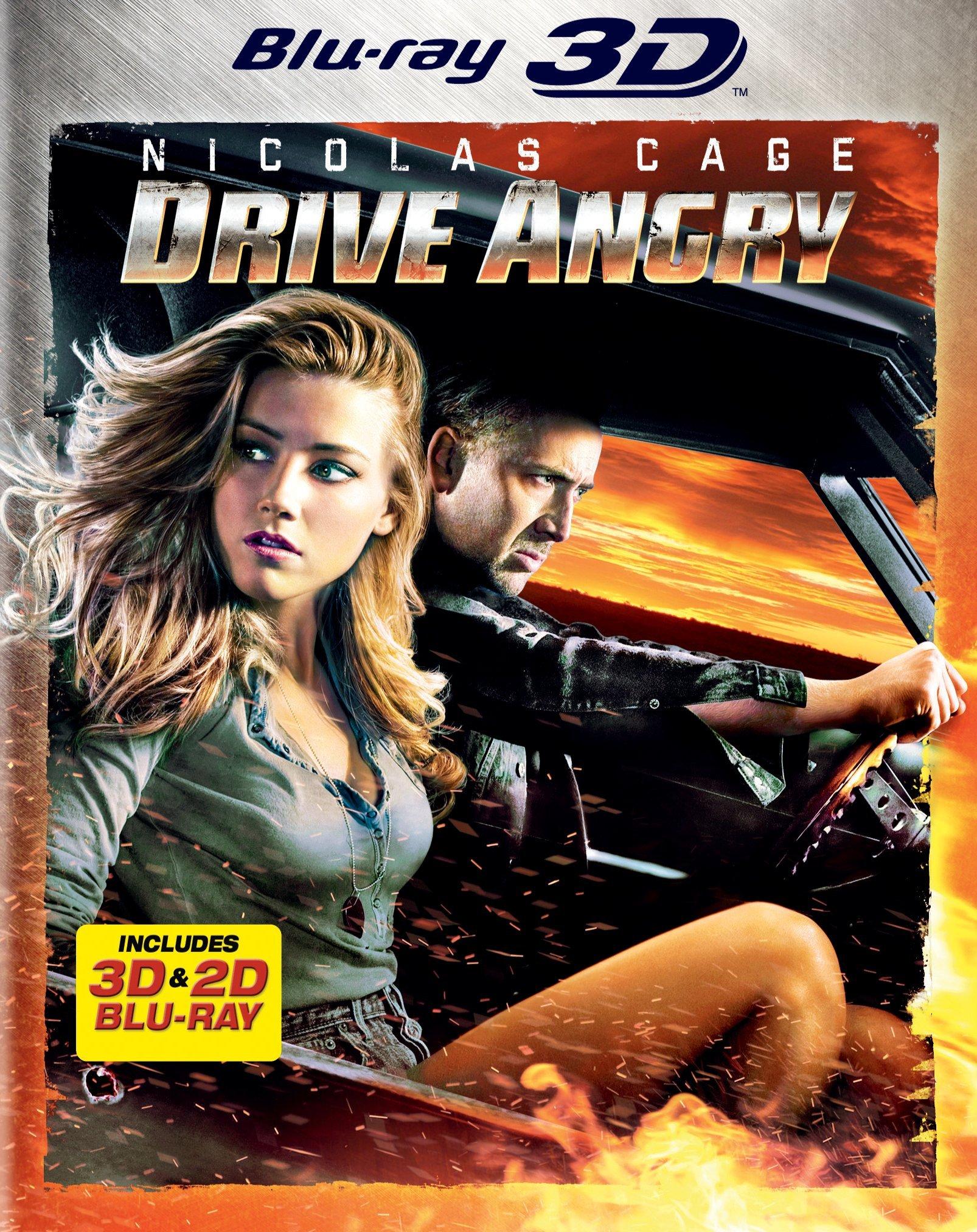 drive angry 3d blu ray