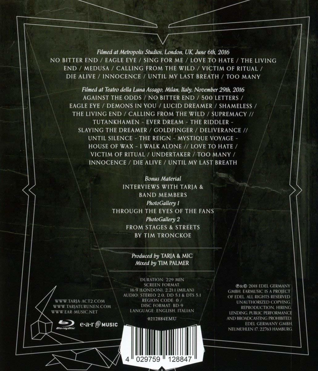 Tarja Turunen: Act II Blu-ray (France)