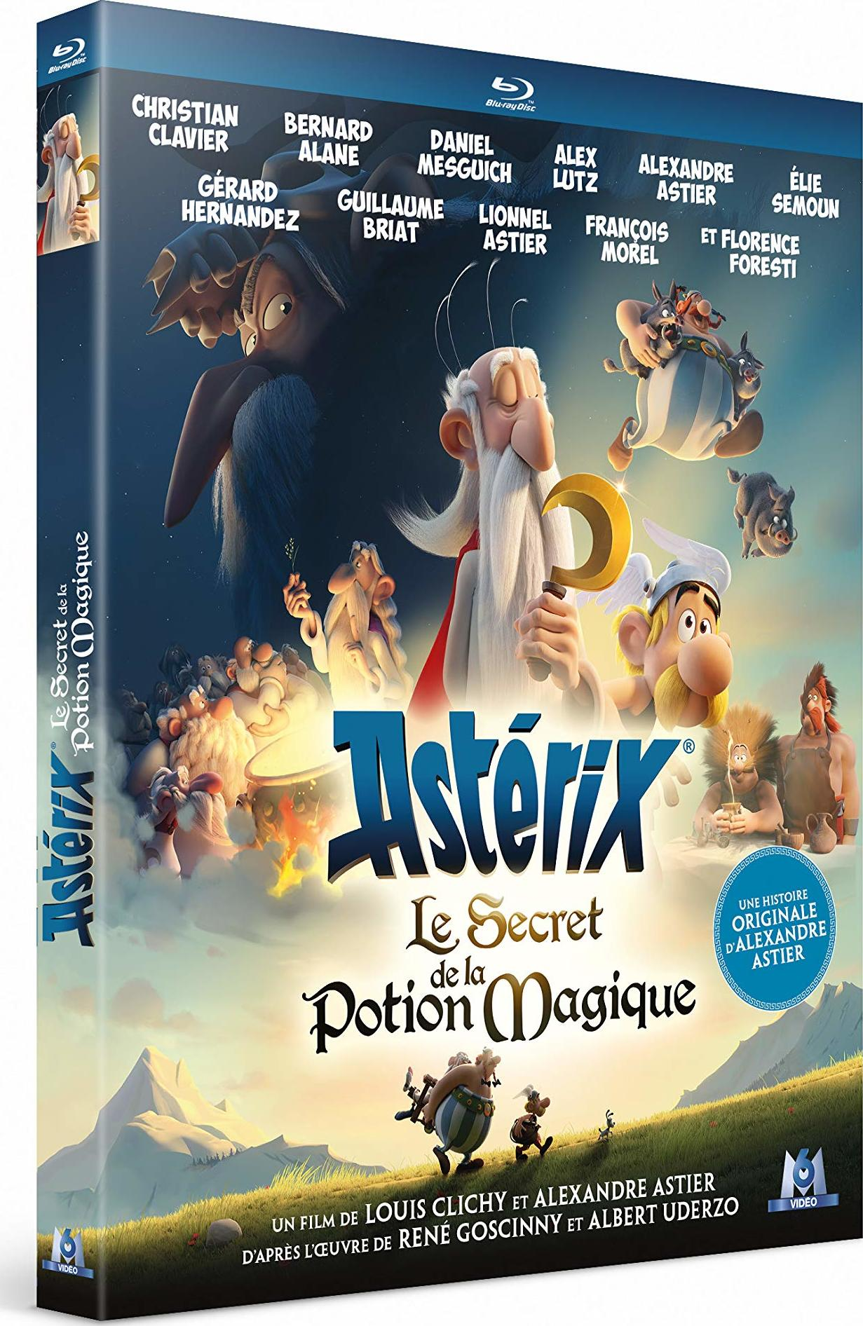 Astérix: Le secret de la potion magique Blu-ray (France)