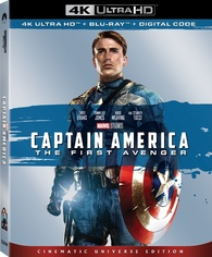 Captain America: The First Avenger 4K (Blu-ray) Temporary cover art