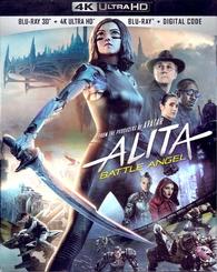 Alita: Battle Angel 4K + 3D (Blu-ray)