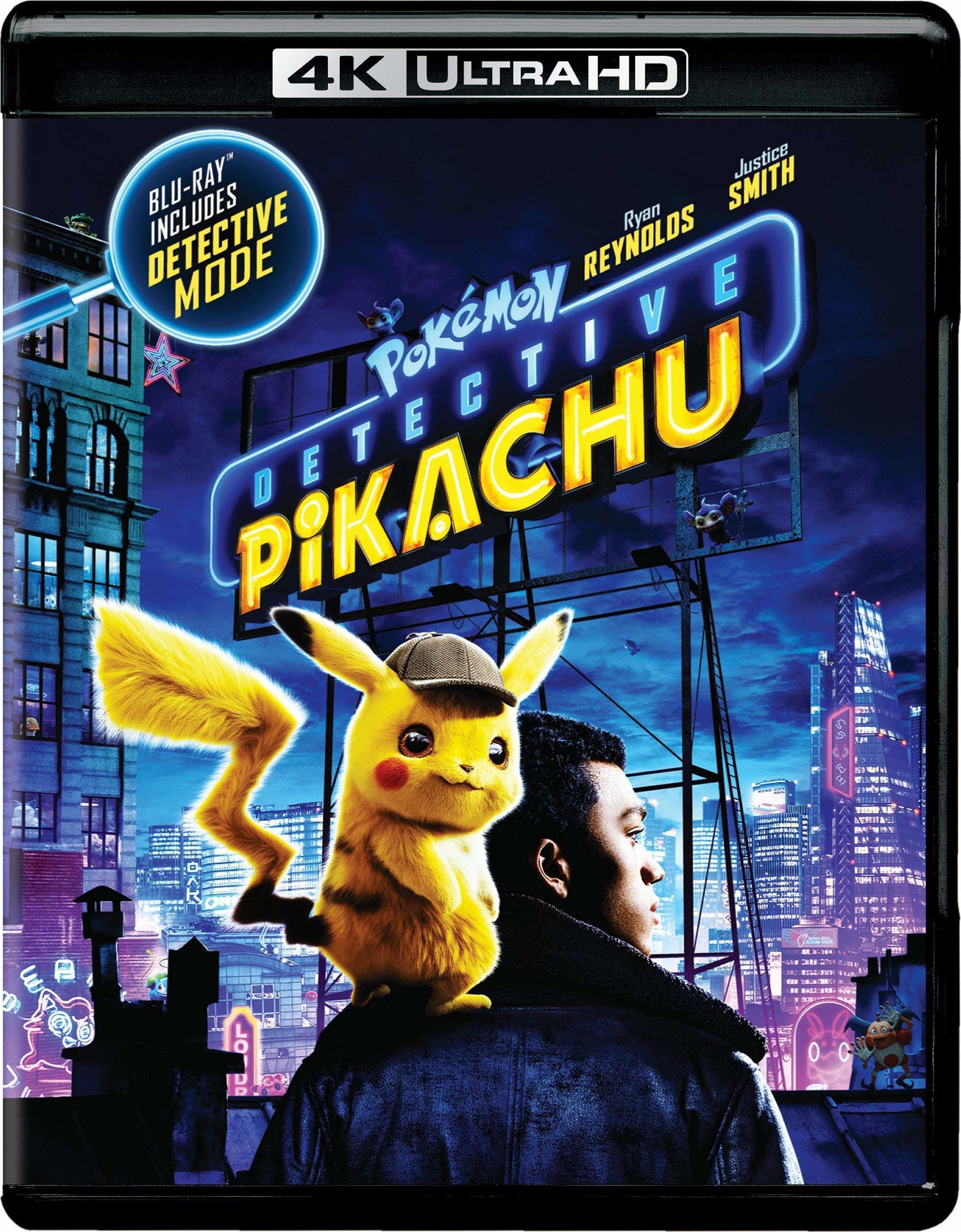 POKÉMON: DETECTIVE PIKACHU 4K Ultra HD, Blu-ray & Digital HD Details