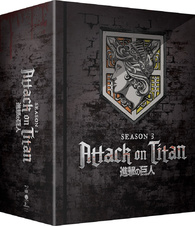 Attack on Titan: Season 3 Part 1 Blu-ray: Limited Edition