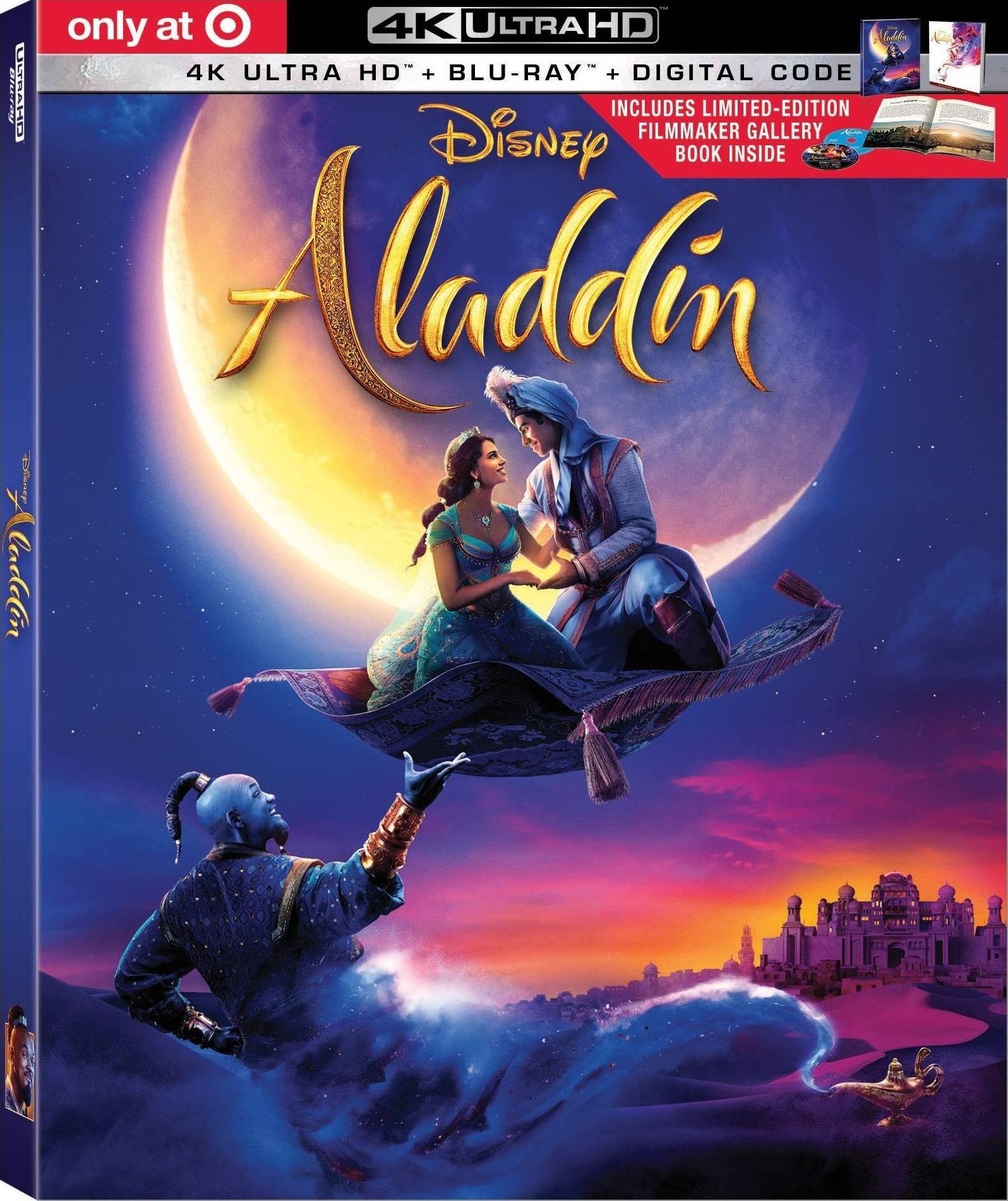 ALADDIN (2019) & Original Animated Film Announced For 4K