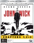 John Wick 4K- 3 Movie Collection (Blu-ray)