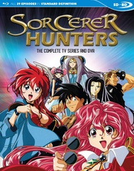 Sorcerer Hunters: The Complete TV Series and OVA Blu-ray