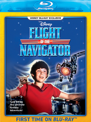 flight of the navigator blu ray