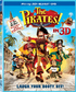 The Pirates! Band of Misfits in 3D (Blu-ray)