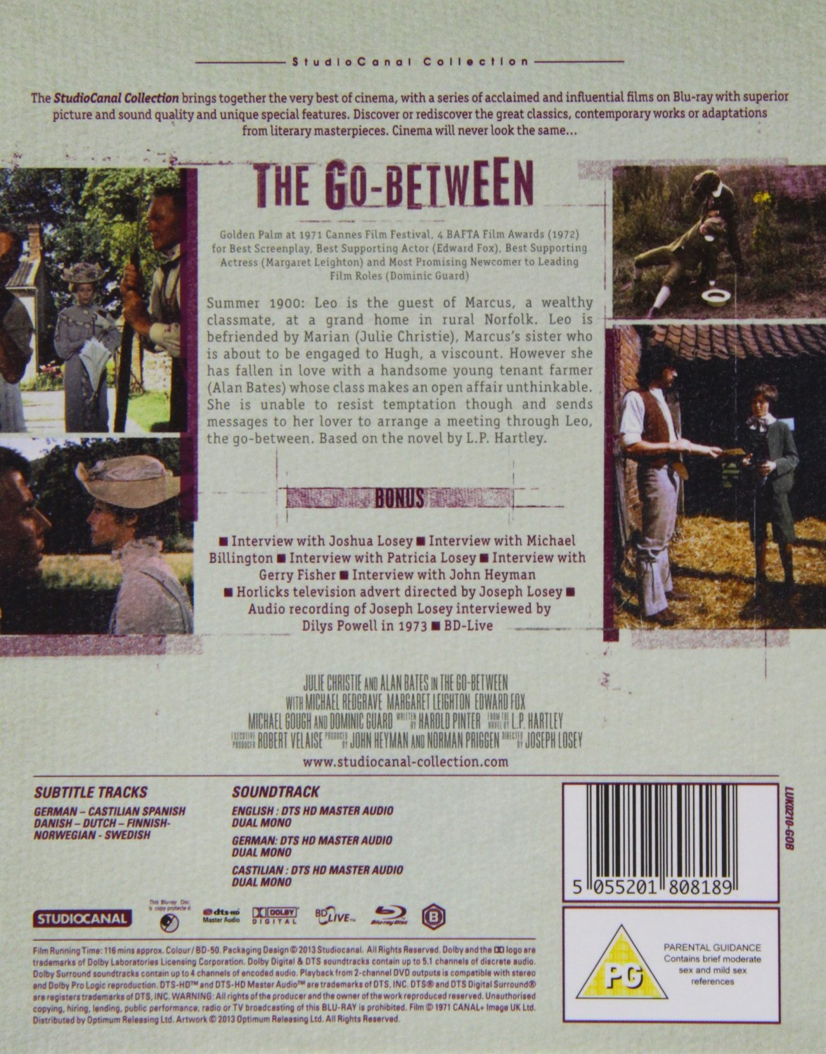 the go between 1971 english subtitles