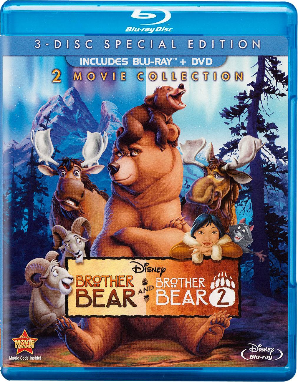 Brother Bear Brother Bear 2 Blu Ray