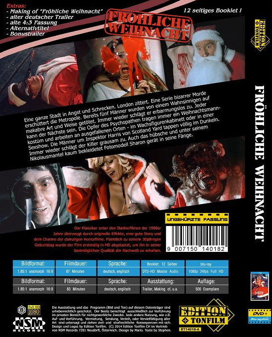 Dont Open Till Christmas.Don T Open Till Christmas Blu Ray Release Date March 19