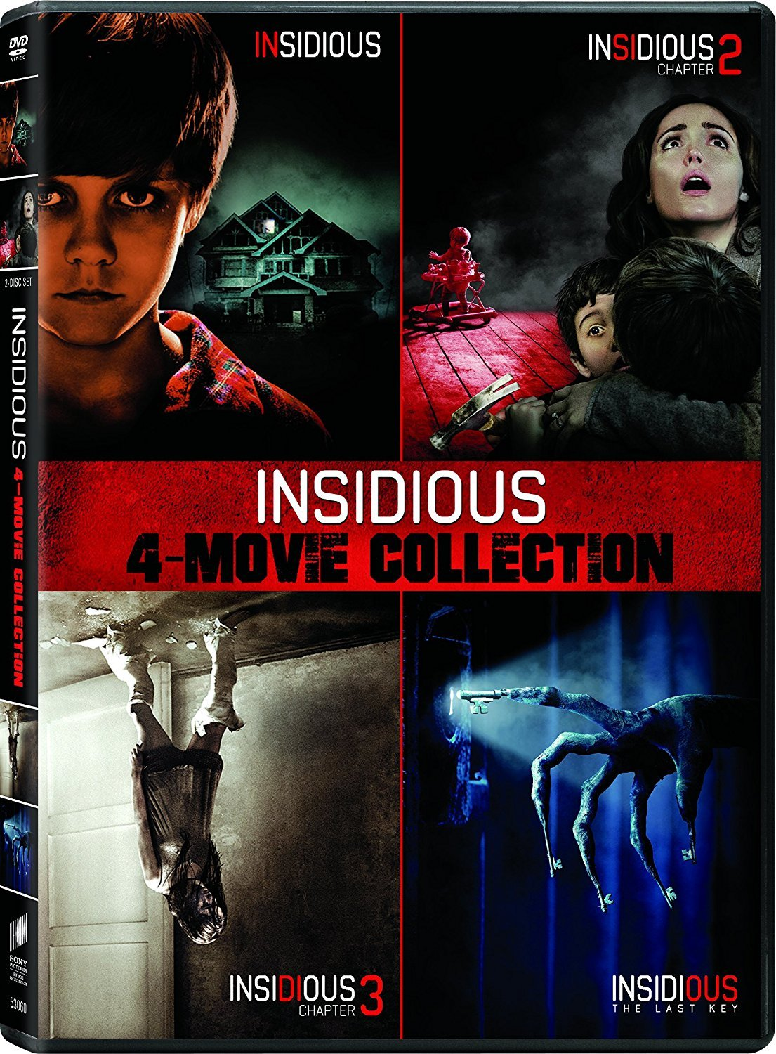 Insidious: 4-Movie Collection DVD Release Date April 3, 2018 ...