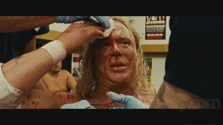 The Wrestler Blu-ray