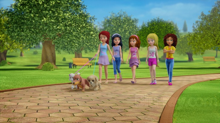 Lego Friends Girlz 4 Life Blu Ray
