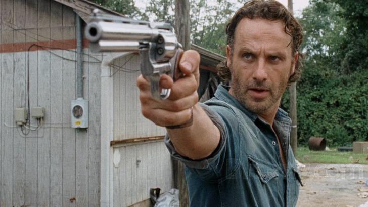 Fin The Walking Dead: The Complete Sixth Season Blu-ray AU-98