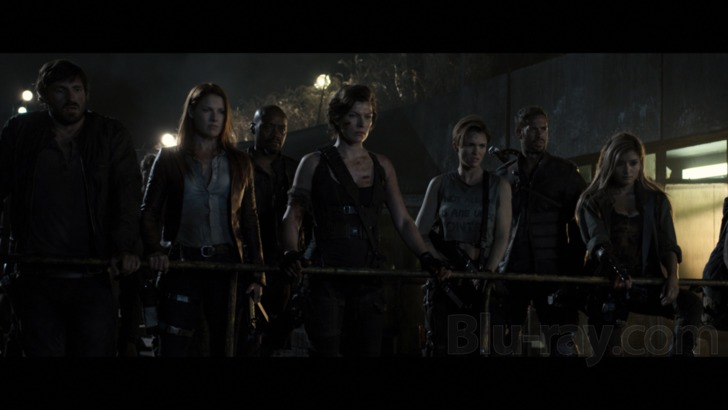 Resident Evil: The Final Chapter 4K Blu-ray