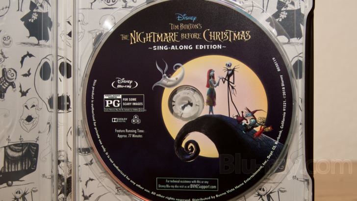 The Nightmare Before Christmas Blu-ray: 25th Anniversary Edition