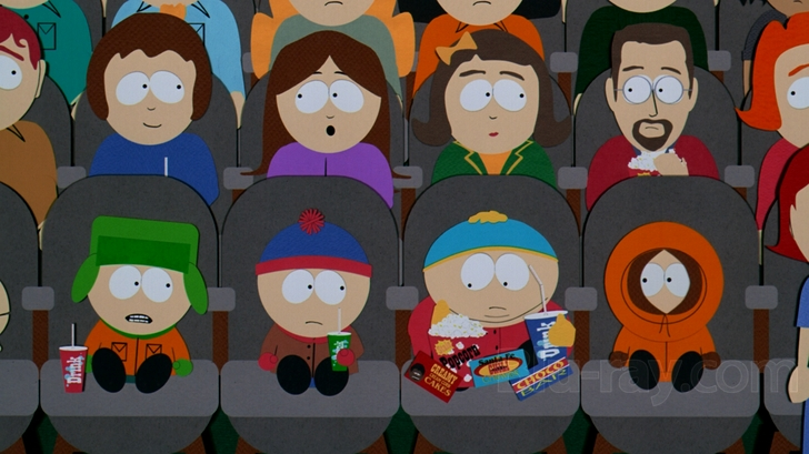 South Park Blu Ray Bigger Longer Uncut